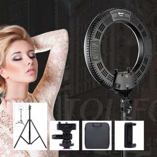INSTOCK!! NEW 14 INCH PROFESSIONAL STUDIO SELFIE LED RING LIGHT