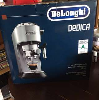 Delonghi dedica coffee machine (original price $2480)