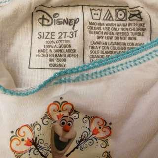 Disney 棉短褲全新
