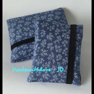 Handmade sanitary pads pouch