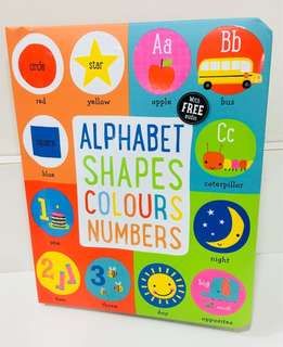 Learning Alphabet, Shapes, Colours & Numbers