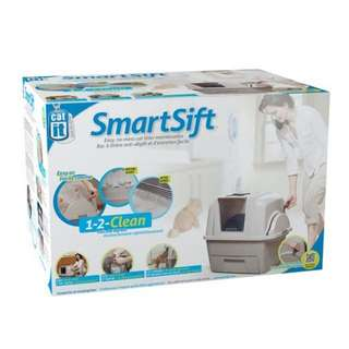 Genuine Catit® Design SmartSift™ Hooded Cat Litter Tray