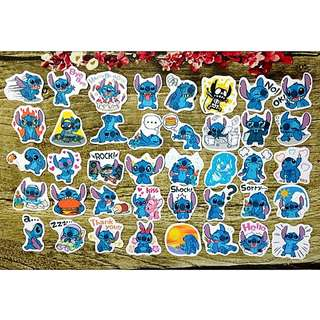 [Instock] 40 pcs  Scrapbook Stickers / Planner Stickers #67 (Stitch)