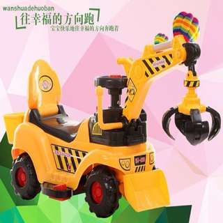 Excavator Rechargeable Truck Toy Car