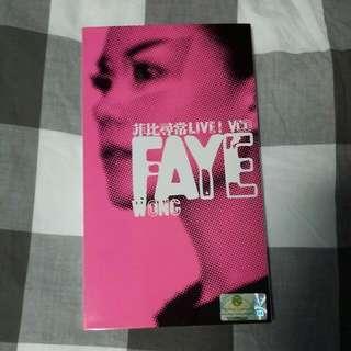 Faye Wong Concert 2 VCDS