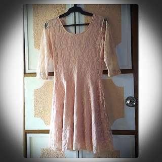 Pastel Color Cocktail Dress
