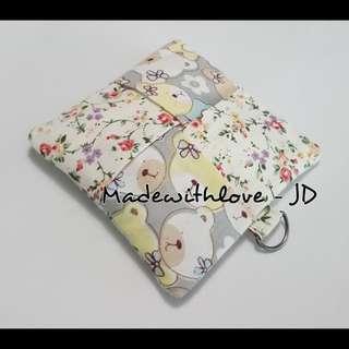 Handmade sanitary pad pouch
