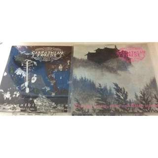 NM Carpathian forest cd metal clearance 2 cd and front booklet