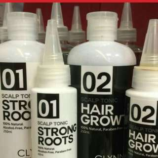 Hair loss hair tonic trial pkt 50ml mail with free wowo sample while stock last