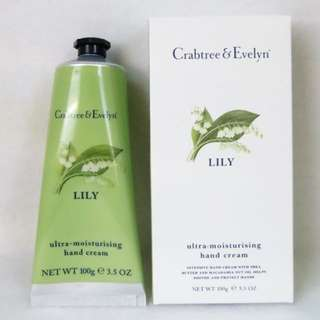 Carbtree & Evelyn lily Hand therapy 茉莉花 hand cream