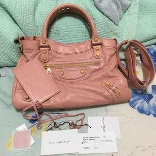 Balenciaga 巴黎世家 99% new 粉紅色 手袋
