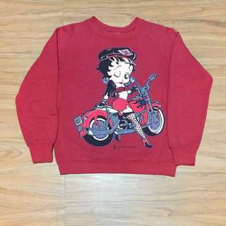 Vintage sweater Betty Boop