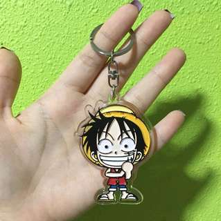 one piece liddy keychain