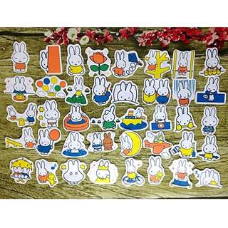 [Instock] Stickers Scrapebook/ Planner Stickers #70 (Miffy)