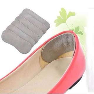 1pair Shoe Heel Protective Fabric Insoles Invisible Shoe Heel protectors Cool