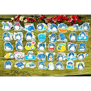 [Instock] Stickers Scrapebook/ Planner Stickers #69 (Penguin)
