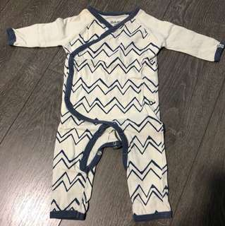 Baby romper pyjamas cotton on baby