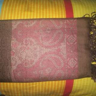 Pashmina batik keris