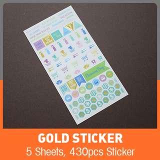 Gold Stciker
