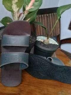 Sandal kulit pria