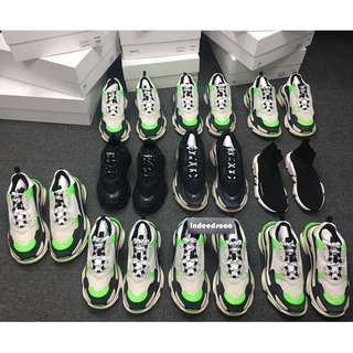 Balenciaga Triple S sneakers Mr Porter exclusive IT39 40 41 42 43 44 45
