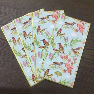 Special exotic bird red packets angbao