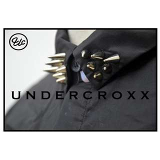 THEUNDERCROXX 6017L X IRON DRILL COLLAR X BLACK SHIRT