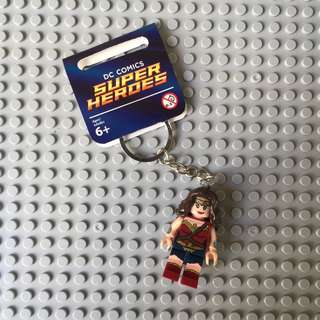 Wonder Woman Minifig Keychain