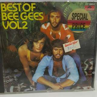 Cd English BEE GEES