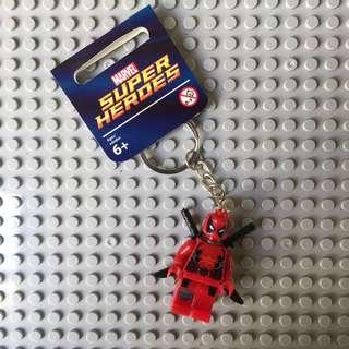 Deadpool Minifig Keychains