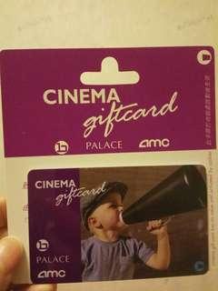 Cinema giftcard $500