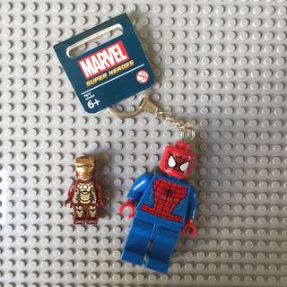 Iron Man Spiderman Hulk Thor Hawkeye Keychain (Large)