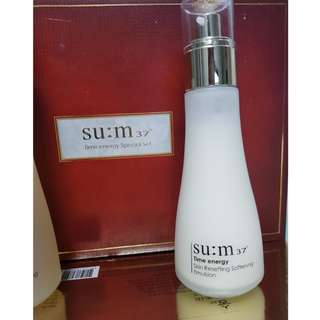 SU:M37 Time Energy Skin Resetting Refining Emulsion
