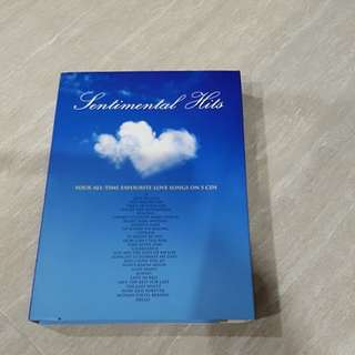 Sentimental Hits -Your All Time Favourite Love Songs on 5CDs