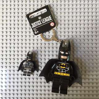 Batman and Superman Keychain (Large)