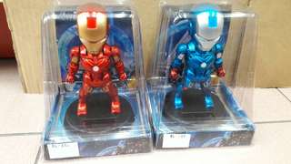 Iron man blue solar