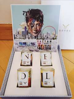 Leon 2016演唱會紀念蠟燭🕯️