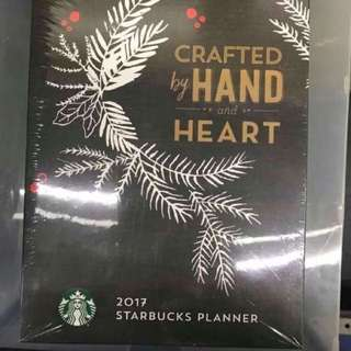 2017 Starbucks planner for collectors