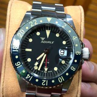 Sell : Squale 30 Atoms Vintage GMT Fullset ETA Swiss Made