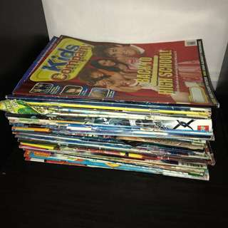 Stack of Kid's Company books