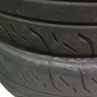 Toyo R1R & Bridgestone RE71R