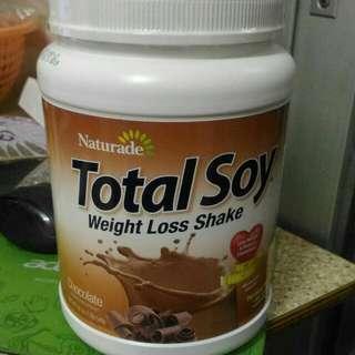 美國直運 Naturade Total Soy大豆代餐粉 飽肚瘦身減肥蛋白粉 代餐 纖體 朱古力味 袋 衫 褲 襪 鞋 裙 Meal Replacement Lose Weight Keep Fit