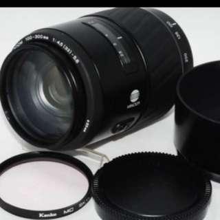 鏡頭 Minolta 100 300mm for Sony a af