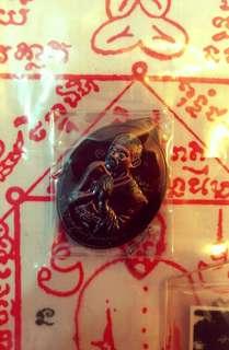 Thai amulet aj uthai rian
