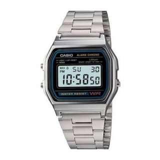 Casio watch A158WA1 free sf, brand new