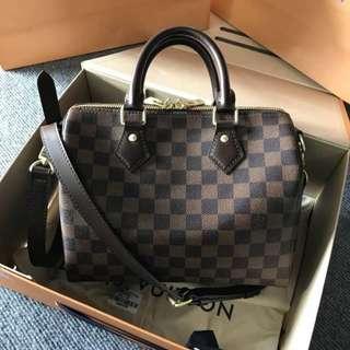 Louis Vuitton speedy bandoulierre preoder