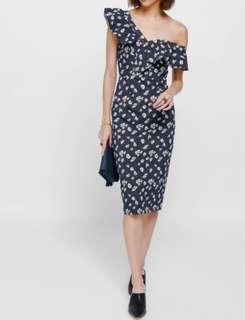 Love Bonito Off shoulder floral dress