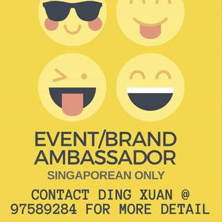 """""""EVENT & BRAND AMBASSADOR"""""" NO EXPERIENCE REQUIRED!"