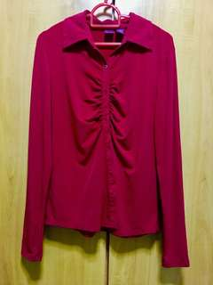 Red Long sleeves for women