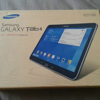 "SAMSUNG TAB 4 10"" AUTHENTIC RUSH AND BRAND NEW"